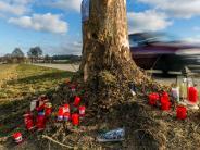Markt Rettenbach: Vier Jugendliche sterben: An der Unfallstelle wird häufig gerast