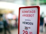 Region Augsburg: Ist bald Schluss mit sonntags einkaufen?