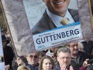 Bundestagswahl 2017: Bericht: CSU-Spitze rechnet nicht mit Guttenberg-Comeback
