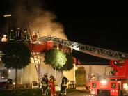 Unglück: Mann stirbt bei Brand