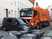 Kaufbeuren: Von eigenem Laster überrollt: 60-Jähriger erliegt Verletzungen