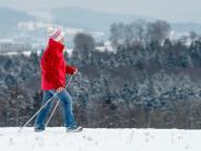 Freizeit: Winterwanderer treffen sich in Bayern