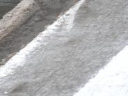 Wetter: Matsch, Schnee, Eis