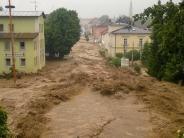 Leichte Sprache: Es gab wieder schlimme Unwetter in Deutschland