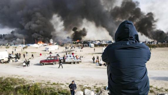 """Flüchtlinge: """"Dschungel von Calais"""" soll bis heute Abend geräumt sein"""