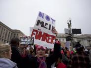 Amtseinführung: Weltweit protestieren Millionen Menschen gegen Donald Trump