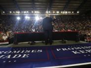 Trump News-Blog: 100 Tage als US-Präsident: Eigenlob von Donald Trump