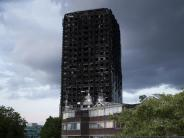 London: Grenfell Tower: Polizei ermittelt wegen fahrlässiger Tötung