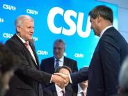 CSU: Söder wird Ministerpräsident, Seehofer könnte nach Berlin gehen