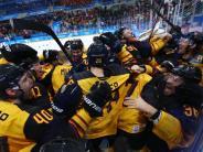 Olympia 2018: Olympia-Wunder: Deutsches Eishockey-Team zieht ins Finale ein
