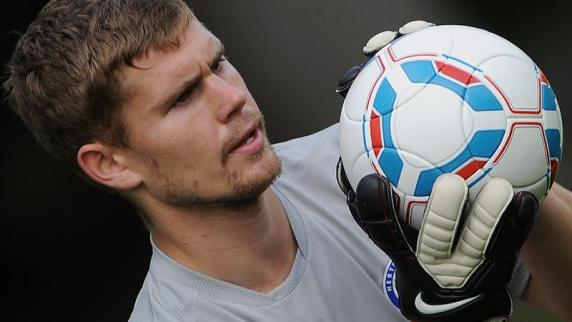 Hertha-Torwart <b>Thomas Kraft</b> ist für den Saisonauftakt fit. dpa - Hertha-Torwart-Thomas-Kraft-ist-fuer-den-Saisonauftakt-fit