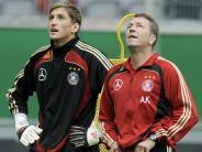 Fußball: Köpke macht Adler Hoffnung auf DFB-Comeback