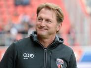 Bundesliga: Immer gefährlich: Ingolstadts Hasenhüttl warnt vor Hertha BSC