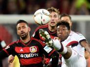 FC Bayern: Unentschieden: FC Bayern spielt 0:0 in Leverkusen
