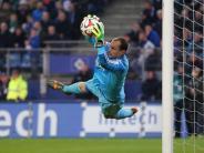 Fußball: HSV gegen Wolfsburg wieder mit Drobny im Tor