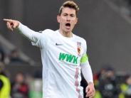 FC Augsburg: Paul Verhaegh bleibt Kapitän, ist aber derzeit verletzt