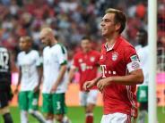 FC Bayern München: Schampus für Lahm: Ancelotti beschenkt seinen Torjäger