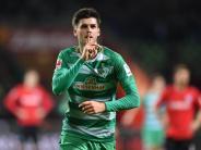 Ausgekugelte Schulter: Werder Bremen mehrere Wochen ohne Grillitsch