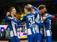 Berlin siegt 2:0: Hertha zurück auf Euro-Kurs - Kovac genervt von Roter Karte