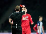Tätlichkeit: Drei Spiele Sperre für Frankfurt-Stürmer Seferovic