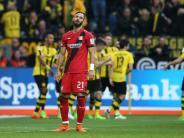 Wolfsburg nur 1:1: Hoffenheim hofft auf Europa - Bayers Krise spitzt sich zu