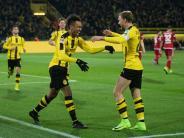 Mühsamer Heimsieg: Dortmund quält sich zum 1:0 gegen mutige Schanzer