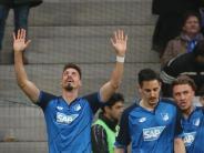 Werkself nur Mittelmaß: Sandro Wagner trifft: Hoffenheim besiegt Leverkusen 1:0