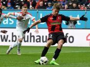 Torwart Hitz im Glück: FCAugsburg hadert mit Remis gegen Freiburg