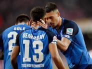 Spätes 1:1 in Köln: Hoffenheim nach Demirbay-Tor im Europapokal