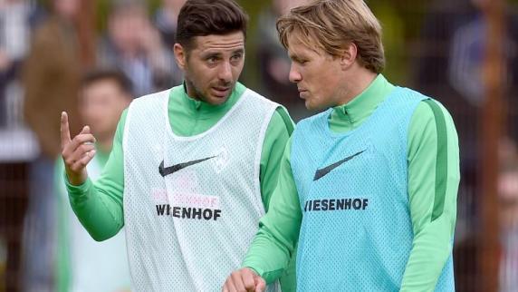 Delaney wieder im Teamtraining: Fritz und Pizarro bei Werder «weiter willkommen»