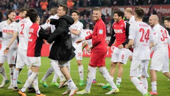 4:3! Köln gewinnt die wilde Werder-Fahrt