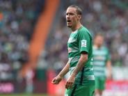 Nackenprobleme: Einsatz von Kruse für Werder in Dortmund ungewiss