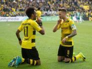 Aubameyang Torschützenkönig: BVB wieder in der Champions League: 4:3 gegen Bremen