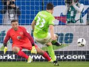 Gomez im Glück: Wolfsburger Lebensversicherung trifft vom Punkt