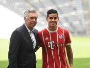 Transfermarkt: James und wer noch?Bundesliga kaum mit Promi-Zugängen