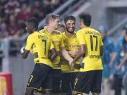 Zwei Treffer von Aubameyang: BVB gewinnt Test gegen AC Mailand 3:1