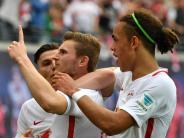 Fußball-Bundesliga: RBLeipzig will vorzeitig mit Werner und Poulsen verlängern