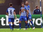 Doppelpack bei 2:0-Sieg: Hertha-Neuzugang Leckie ganz schnell verliebt in Berlin