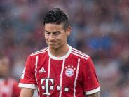 Nach Muskelverletzung: Bayern-Profi James reist zu Kolumbiens Nationalelf