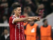 Abschied des Bayern-Stürmers?: Lewandowski nennt Medienbericht zu Real Madrid «Quatsch»