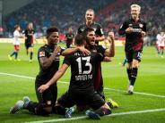 Fußball-Bundesliga: 39-Millionen-Duo schießt Bayer aus dem Keller - HSVverliert