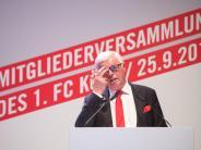 Jahreshauptversammlung: 1. FC Köln erzielt Rekordgewinn von 11,1 Millionen Euro