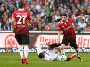 2:1-Auswärtssieg: Frankfurt beendet mit spätem Tor die 96-Heimserie