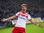 HSV-Youngster: «Uns Uwe» lobt «Uns Fiete» HSV siegt und schützt Arp
