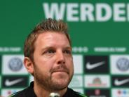 Erster Sieg bei Testspiel: Neuer Werder-Coach Kohfeldt:Baumann-Worte kein Problem
