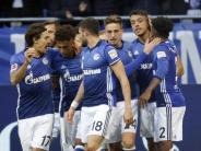 Bundesliga: Schalke stürmt mit Sieg gegen HSVauf Tabellenplatz zwei