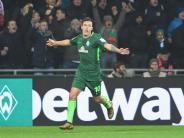 Werder im Aufwind: Zweiter Heimsieg unter Kohfeldt:Bremen besiegt Stuttgart
