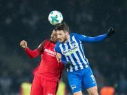 Bundesliga: Hertha verliert Heimspiel - Frankfurt schon Tabellen-Achter
