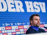 Samstag in Leipzig: Neuer HSV-Trainer Hollerbach mit ersten Tagen sehr zufrieden