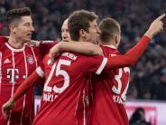 Spiele am Samstag: Bayern schlägt Schalke - Auch BVB und Frankfurt siegen